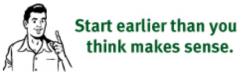 Steve Krug's usability tip - Start earlier than you think makes sense