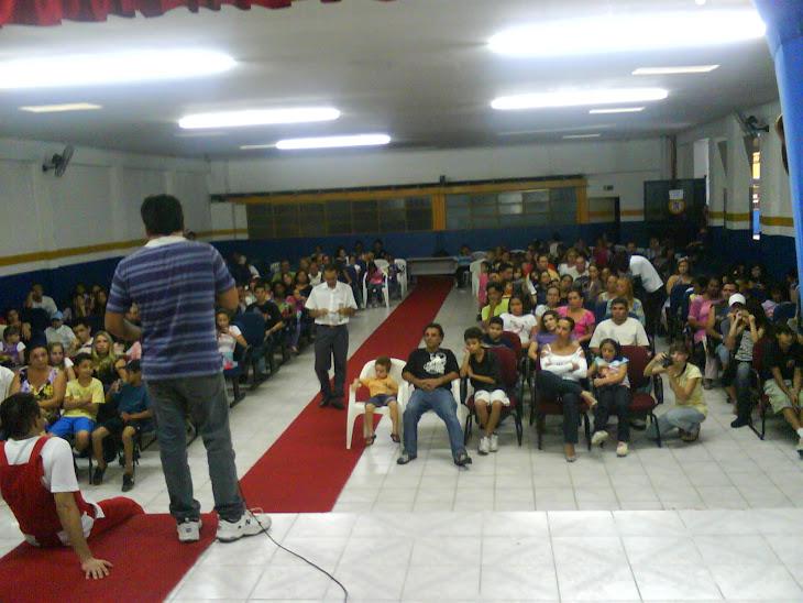 Palestra sobre Conteúdo Infantil e Mídia.