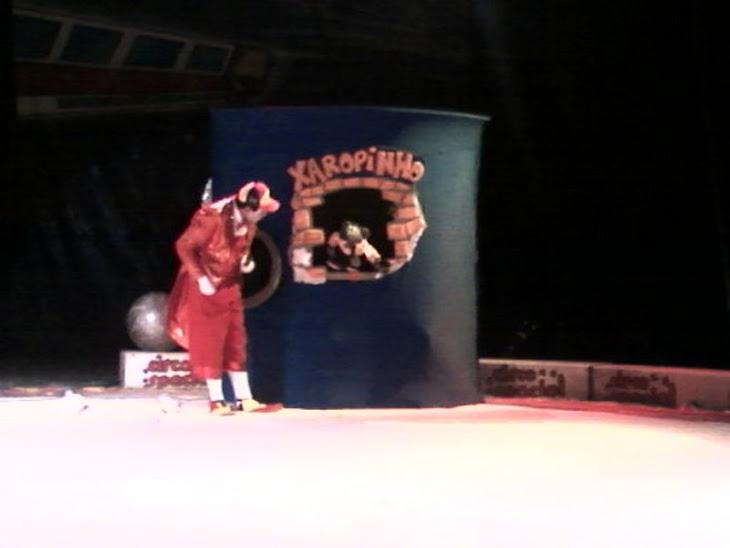 Evangelismo no Circo com Palhaço Aleluia.