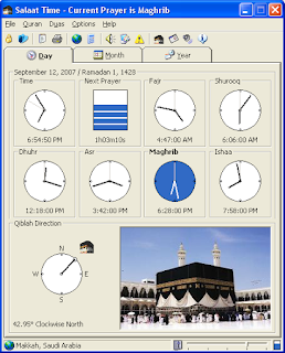 Salaat Time 2.0, ramadhan tools