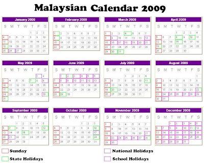 2011 calendar nsw