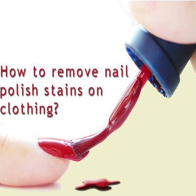 Blot nail polish stains ­– never rub the stain as this can push the nail polish further into the fibres. Nail polish is the perfect way to complete any outfit and there truly is a style and finish to suit any occasion.