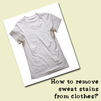 1000 images about tips tricks for home on pinterest for Sweat stains on shirt