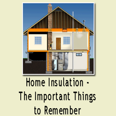 Diy do it yourself home improvement hobbies garden cooking tips home insulation the - Advice on insulating your home ...
