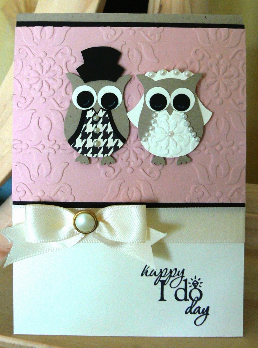 Kb papercraft mr and mrs owl i had soooo much fun let me introduce you to the newlyweds jeuxipadfo Image collections