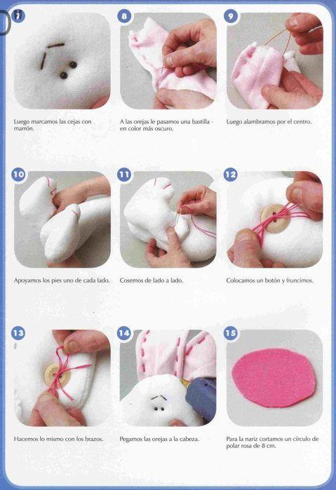 Сделать игрушку своими руками поэтапно