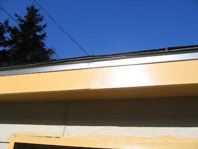 Our Tiny Oak Park Bungalow Garage Drip Edge