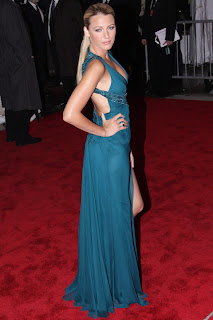 Blake Lively at Metropolitan Museum of Art Costume Institute Gala 2009