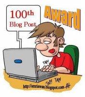 Award | 100 Posting Fatamorgana Site