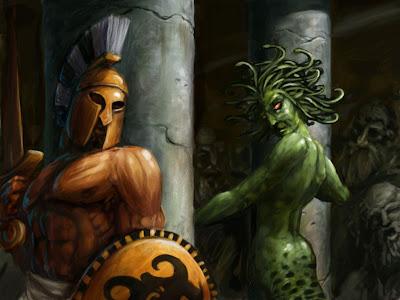 Mitologia Griega: Perseo Y Medusa