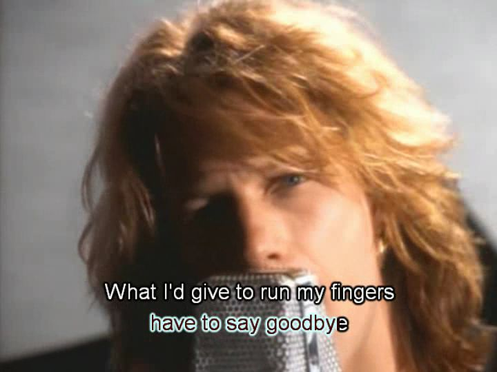 Music Video With Lyrics Added By Allan5742: Bon Jovi