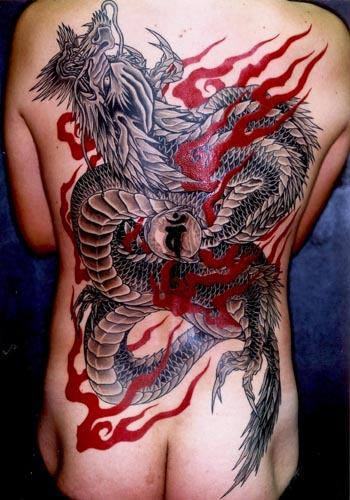 japanese dragon tattoos for men. japanese dragon tattoo