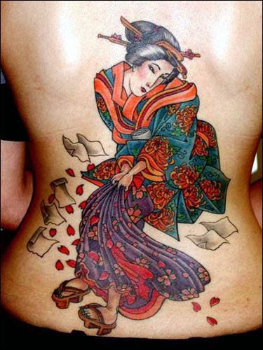 japanese warrior tattoo