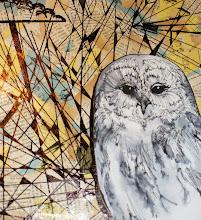 Owl with Geometrics