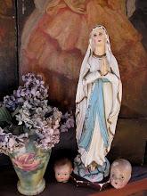 la virgen de María Cecilia