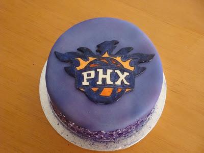 Birthday Cakes Phoenix ~ The caking hobbyist phoenix suns