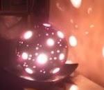 Lámpara en bizcocho ceramico