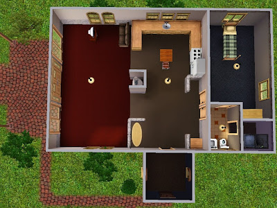 The+sims+3+floor+plans+for+houses