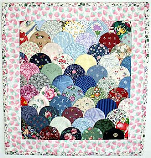 quilt - clamshell curved piecing - Indulgy - Everyone deserves a