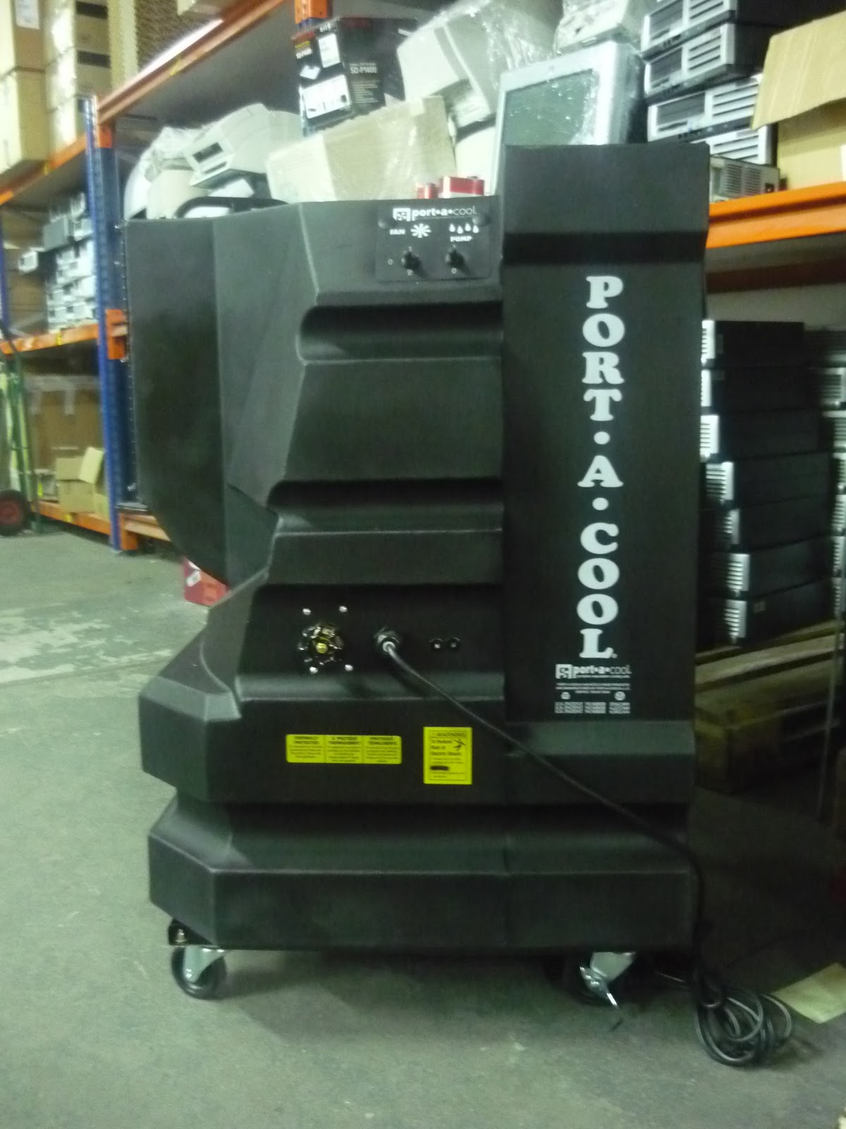 Portool Portable Evaporative Cooling Mobile Industrial