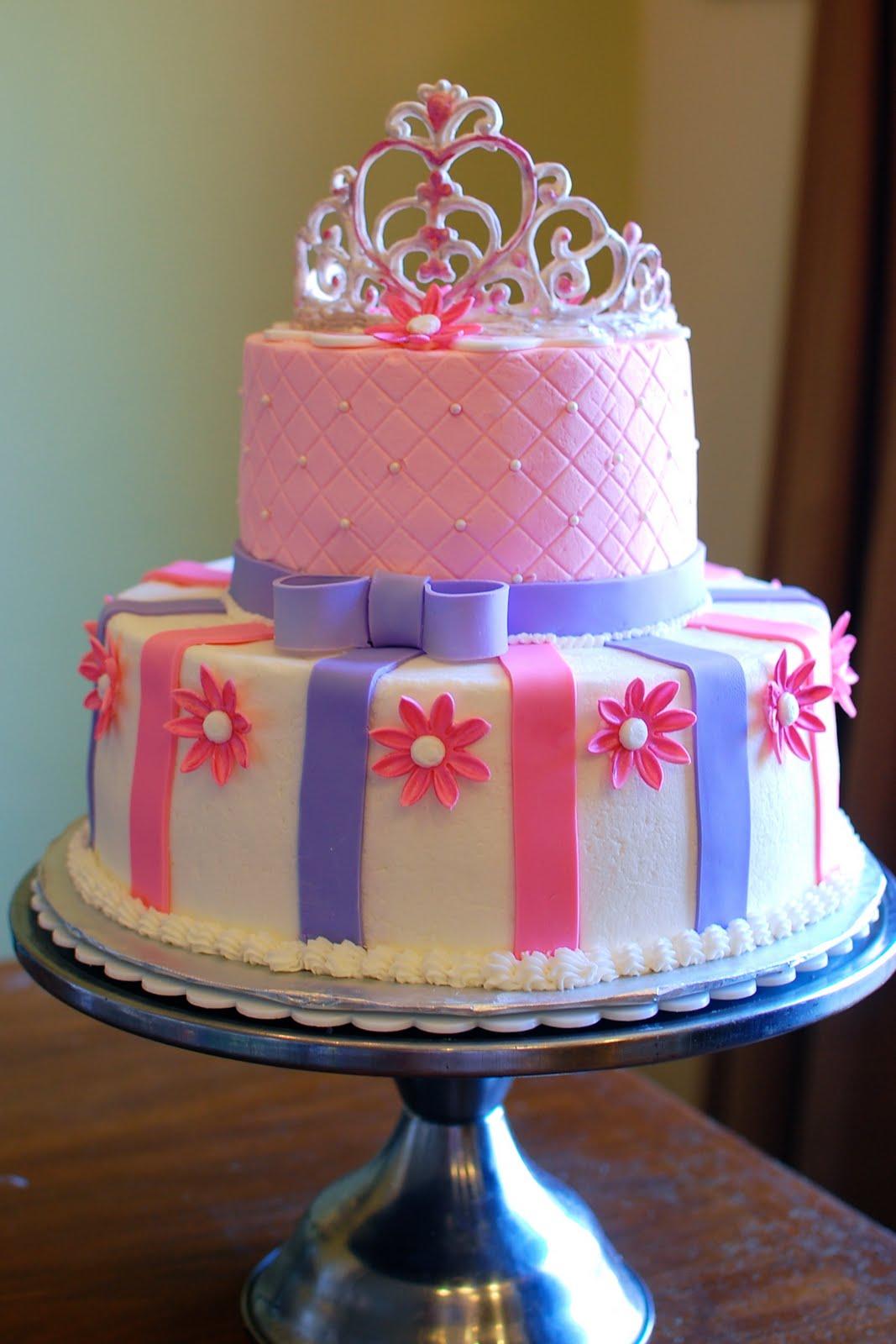 SugarSong Custom Cakes A Pink Princess Cake