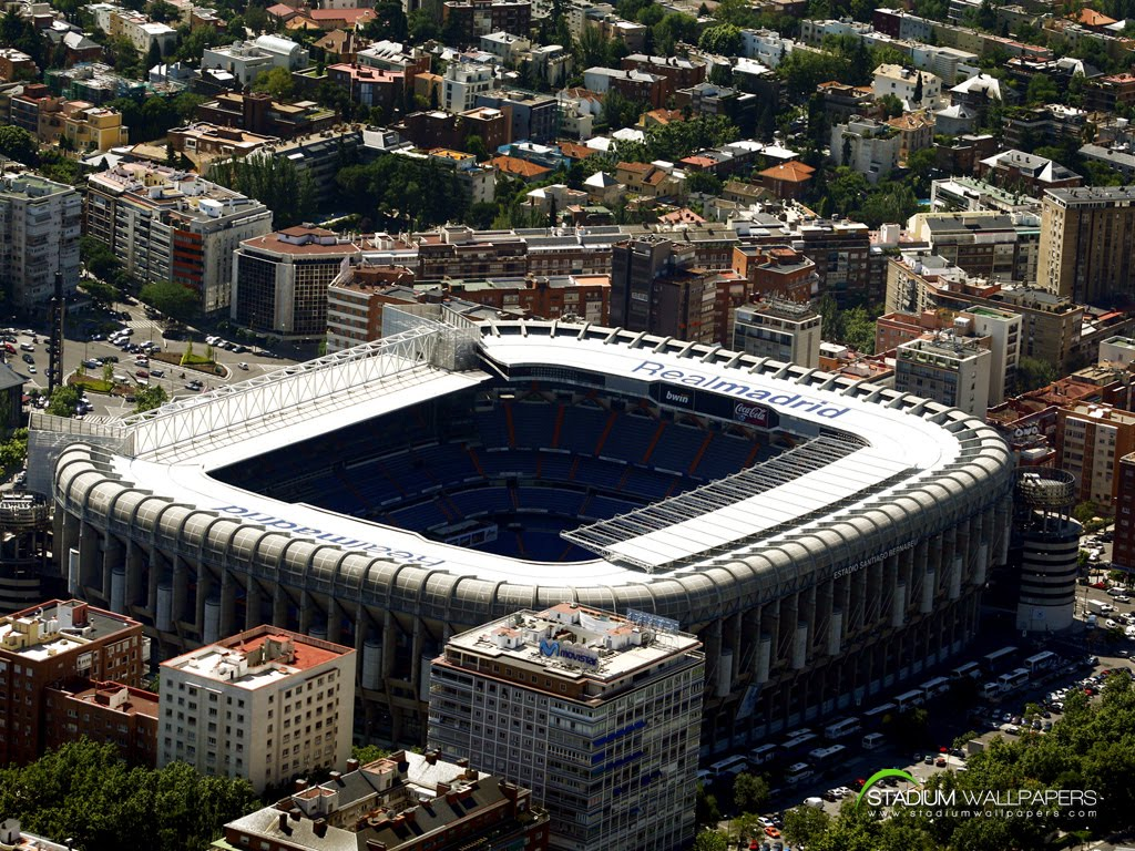 real madrid stadium wallpaper 1024x768 Real Madrid Masaüstü HD Resimleri