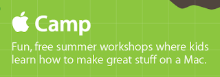 Picture+1 Free Camps for Kids this Summer from Apple