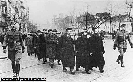 WORLD HISTORY: Jews Being Taken to Death Camps