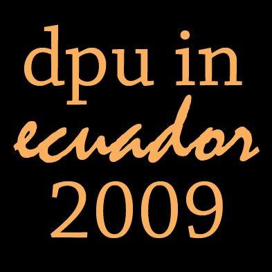 DePauw in Ecuador 2009