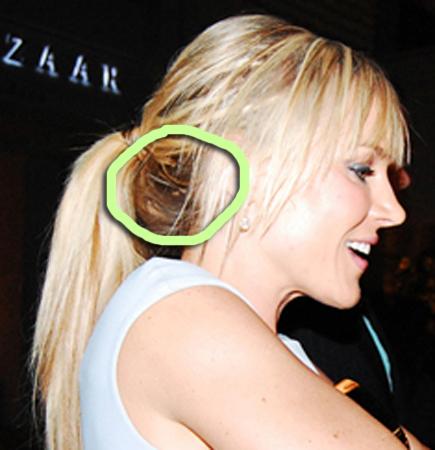 lindsay lohan hair extensions
