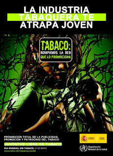 Cartel del Da Mundial Sin Tabaco 2008