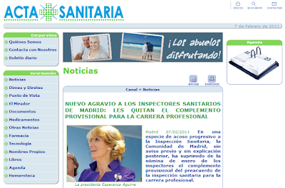 Acta Sanitaria 07/02/2011