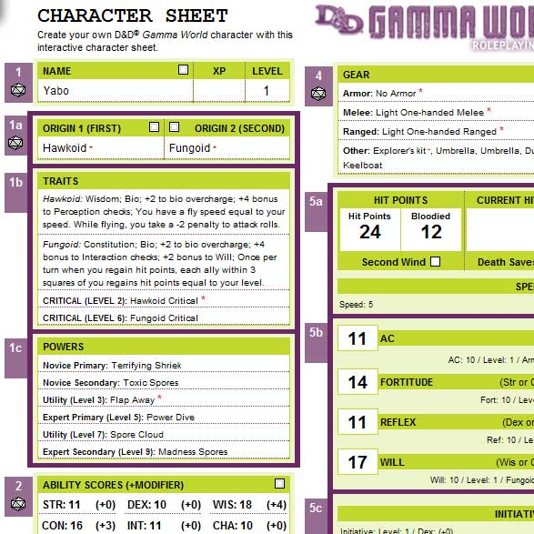Interactive gamma world character sheet points of light related posts gumiabroncs Choice Image