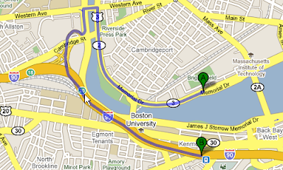 how to find different routes on google maps