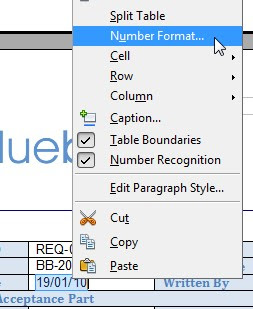 how to change default number format in openoffice