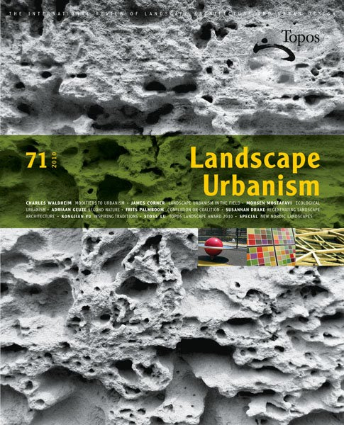 an essay on landscape urbanism Apply now for kingston university london's landscape and urbanism ma degree this course has been specifically developed for architects, designers and strategic.