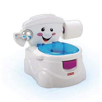 Toddler toilet overflow gif