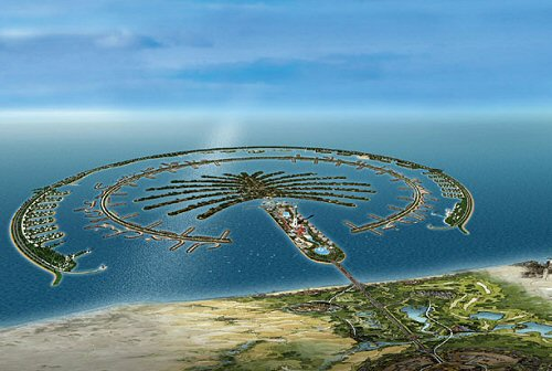 Download this Dubai Palm Island picture
