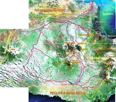 Curah Hujan Harian Daerah Aliran Sungai (DAS) Brantas, Jawa Timur BRANTAS+DAS