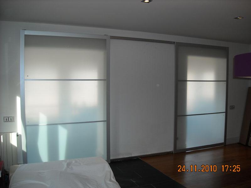 Bricolatge a domicili puerta corredera ikea lyngdal - Puertas correderas de cristal ikea ...