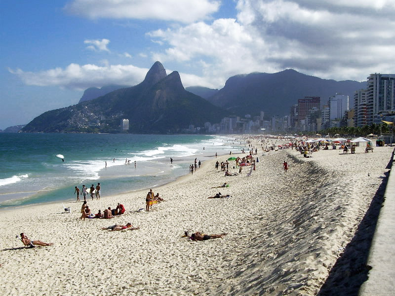 Is Ipanema Beach in Rio De