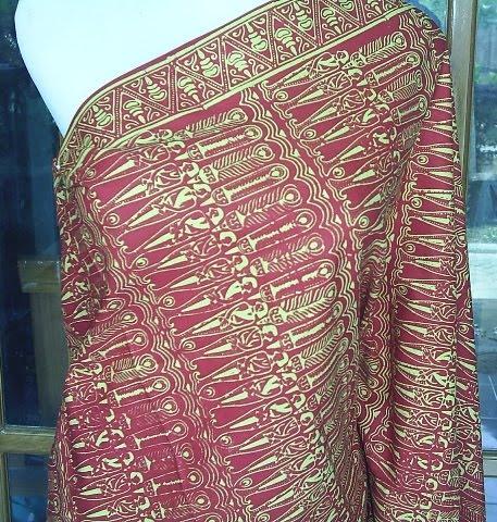 Kain batik Motif Wayang Tengul berbahan Primisma halus dengan warna ...