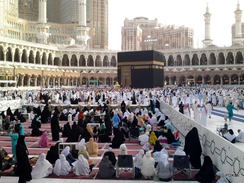 pengalaman di kota makkah tempat solat wanita depan