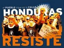 HONDURAS RESISTE contra el Golpe de Estado
