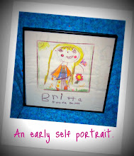 An early self portrait.