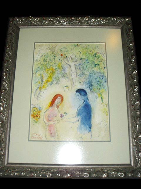 Org. Marc Chagall Painting