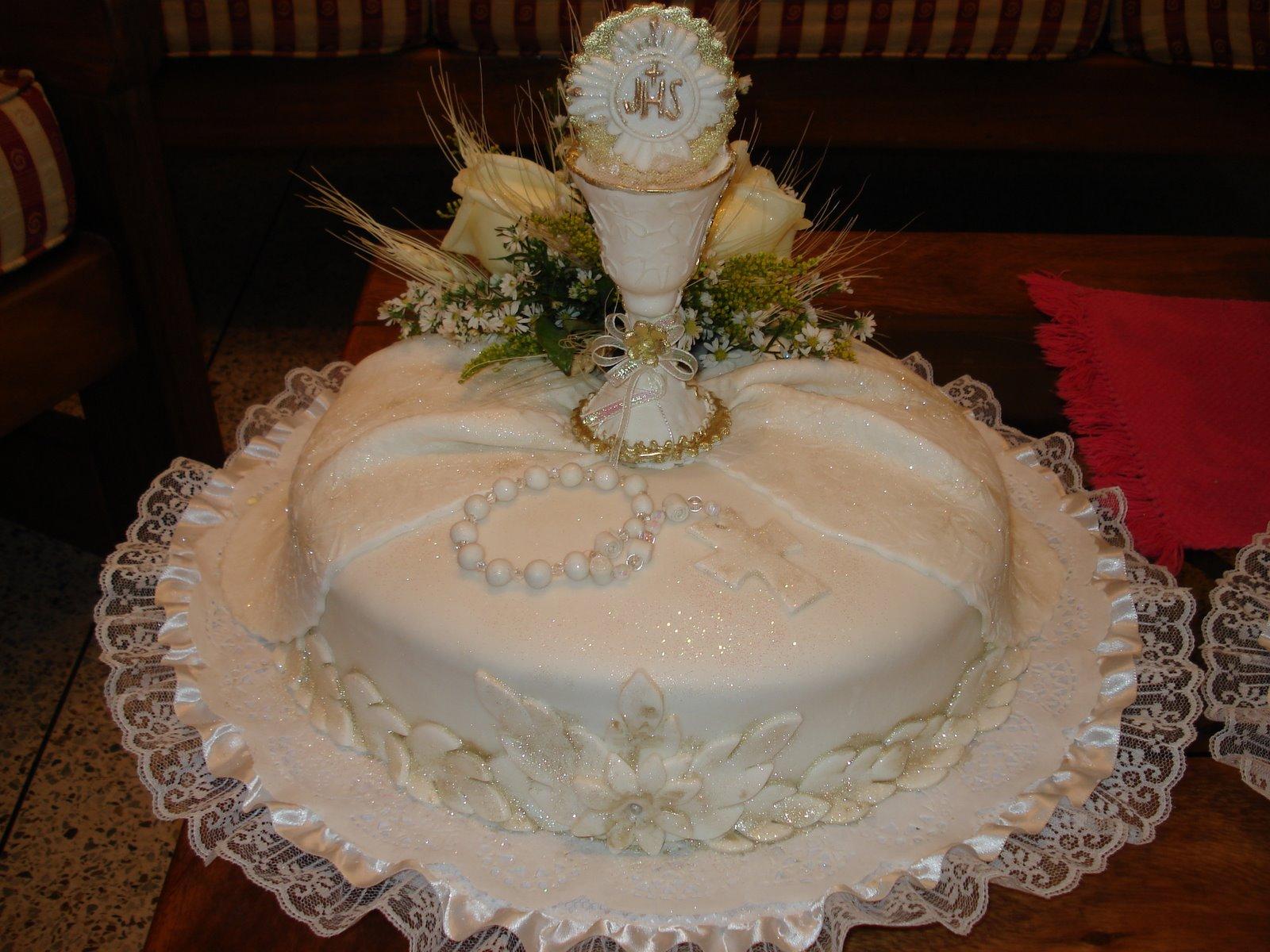 Diseños de tortas para primera comunión - Imagui
