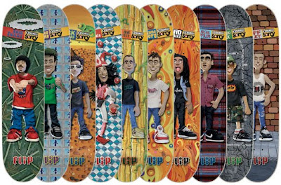 Flip Skateboards Animation Skateboard Decks