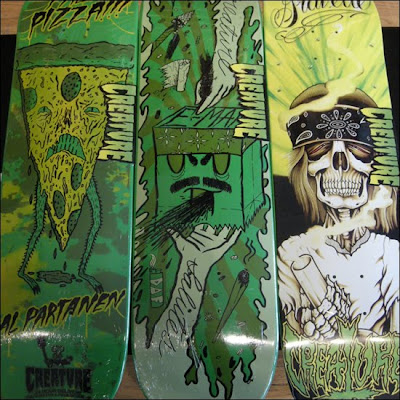 Creature Skateboards Spring 2010 Skate Decks2
