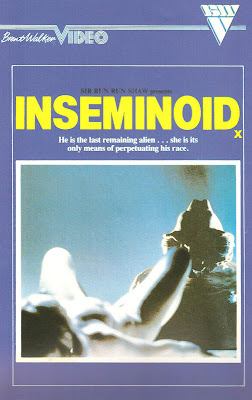 Inseminoid Vhs Box Art